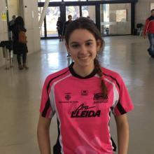 Miriam Tost en el Campionat de Catalunya Juvenil