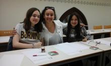 Alba, Ainhoa i Núria