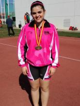 Maria Navarro al Campionat d'Espanya Cadet